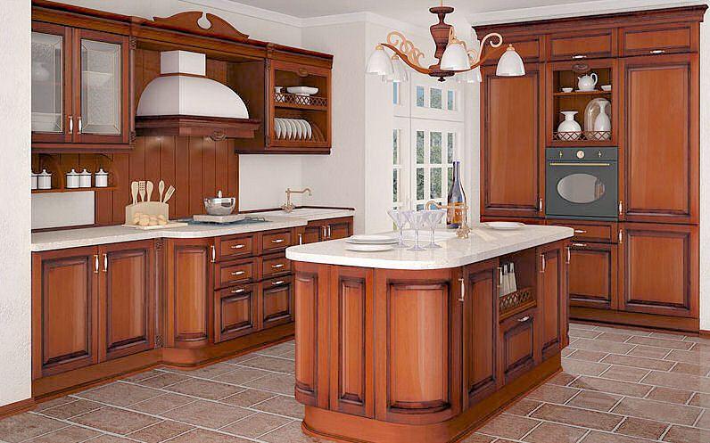 Кухня из дерева Cecilia