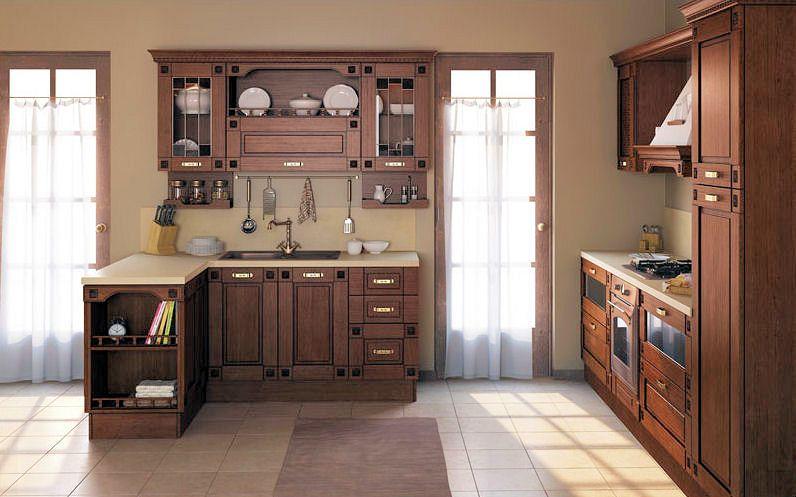 Кухня с итальянским фасадом Floreale