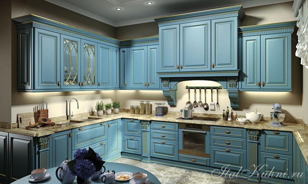 Megaros Кухня Duca D Este Azzurro