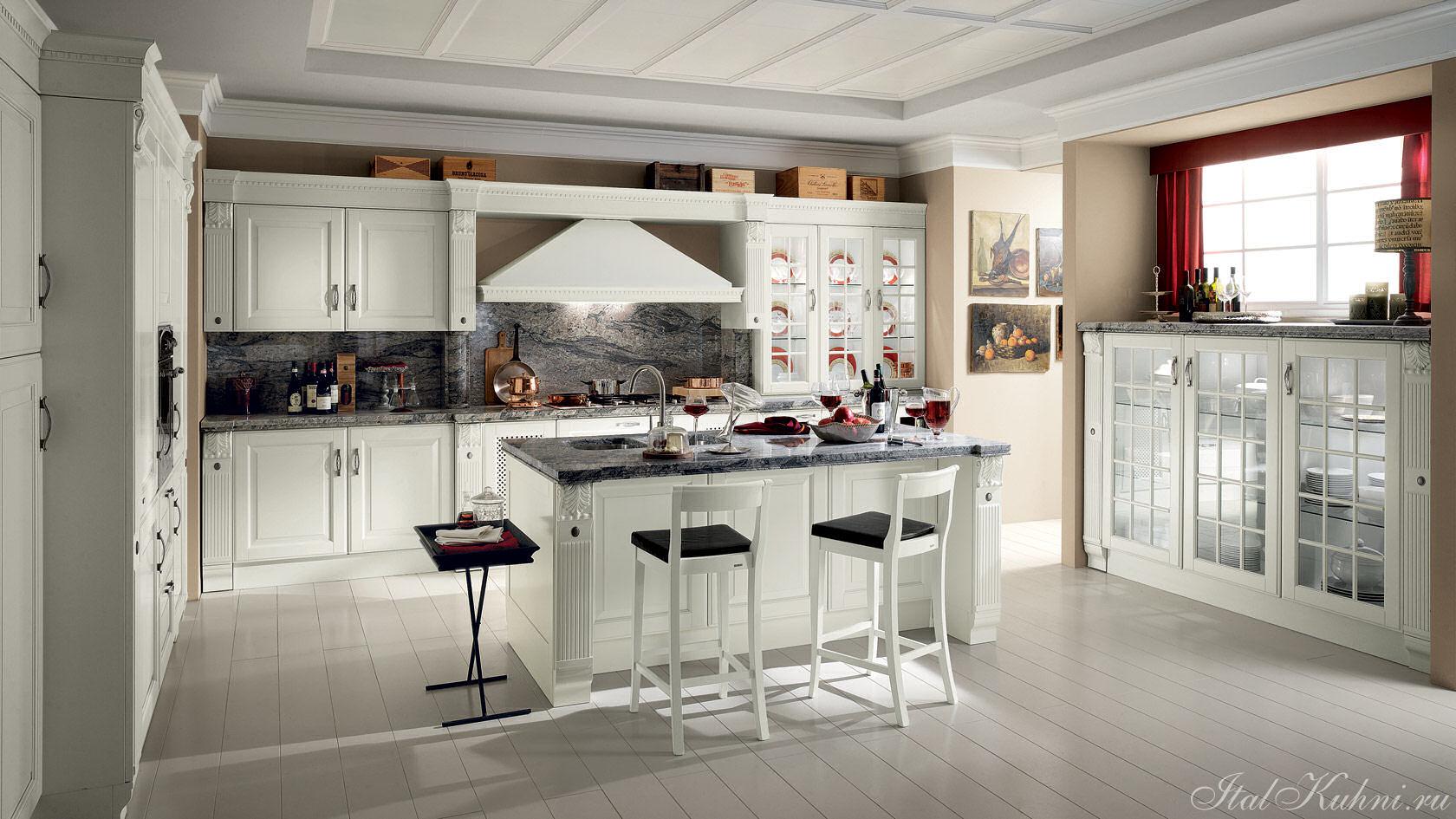 Cucine soggiorno rustiche