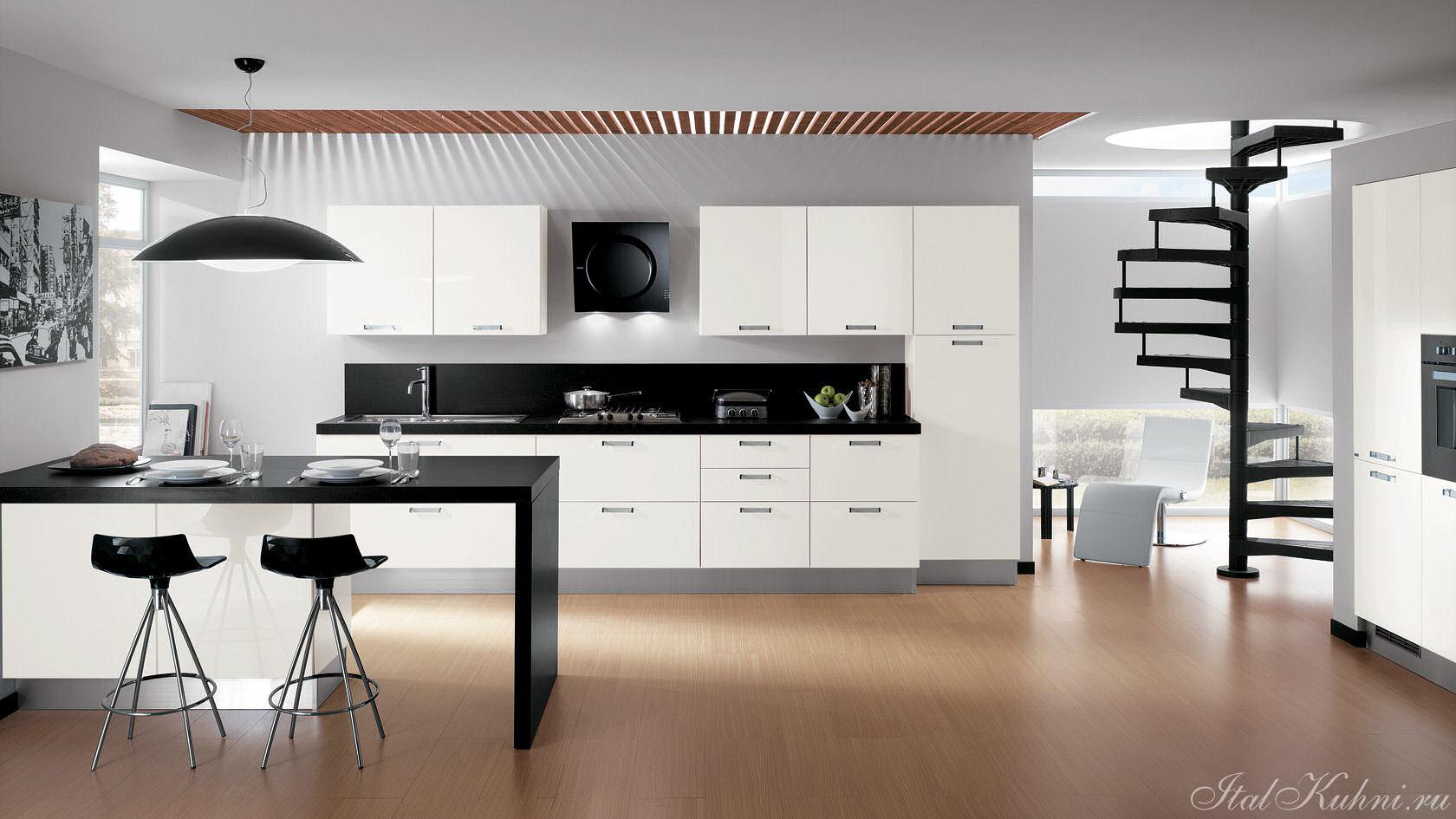 Дизайн кухни в деревянных домах 2017-2018 современные идеи