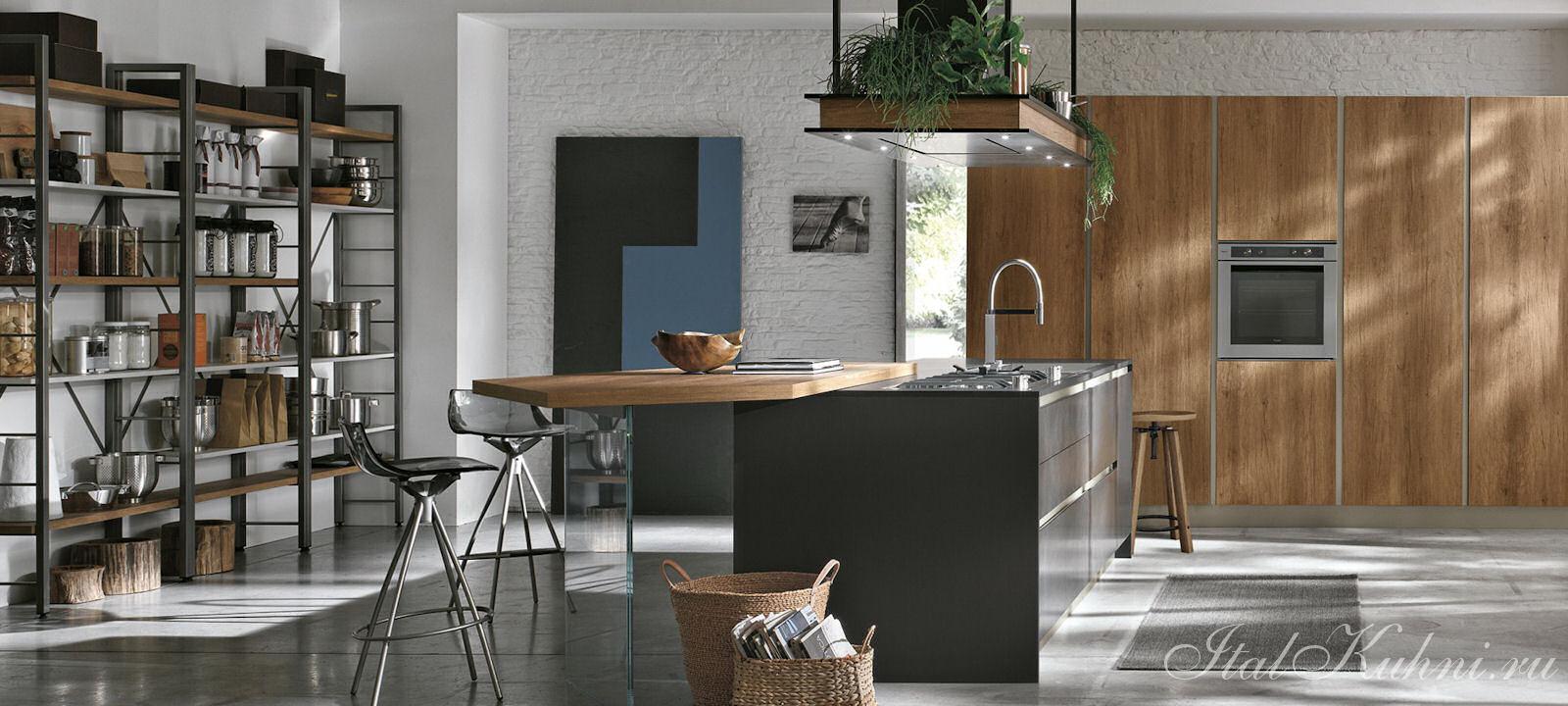 Кухня в стиле модерн Infinity