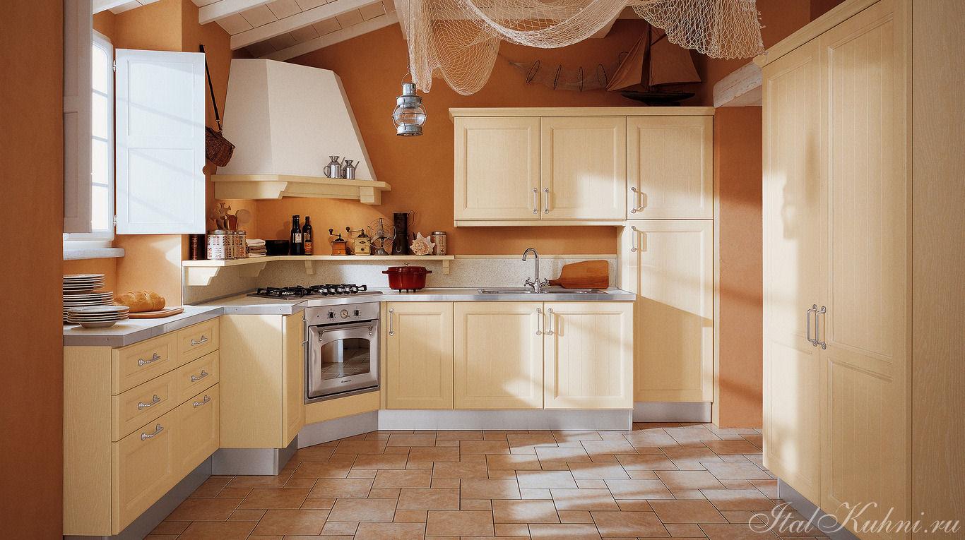 Дизайн кухни с углом с вытяжкой