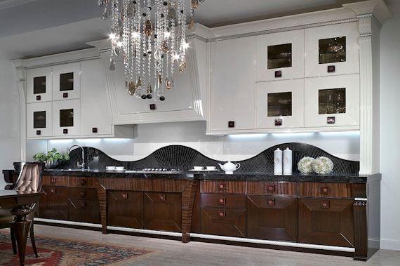 Элитная кухонная мебель от студии Италкухни