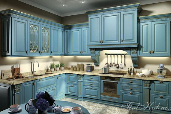 Кухня Megaros Azzurro