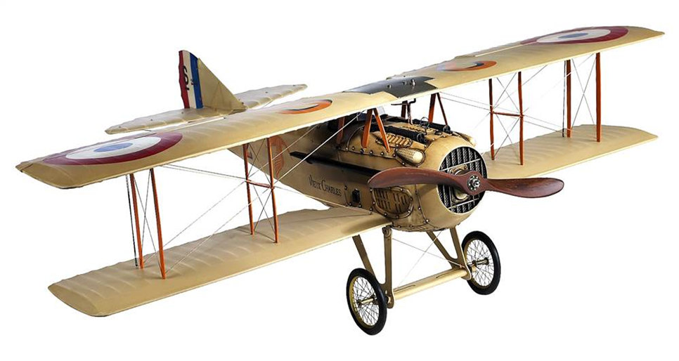 Самолет Spad XII French Authentic Models